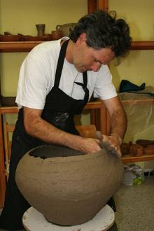 Elementos artesanos y tipos de materiales gran canaria for Materiales para ceramica artesanal