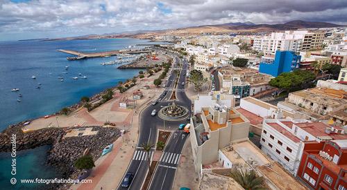 La poblaci n municipios fuerteventura gevic gran enciclopedia virtual islas canarias - Pension puerto del rosario ...