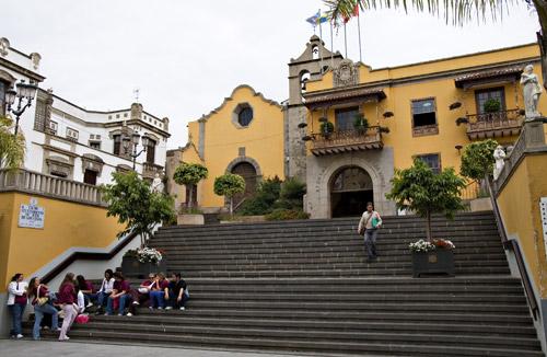 Resultado de imagen de icod ayuntamiento